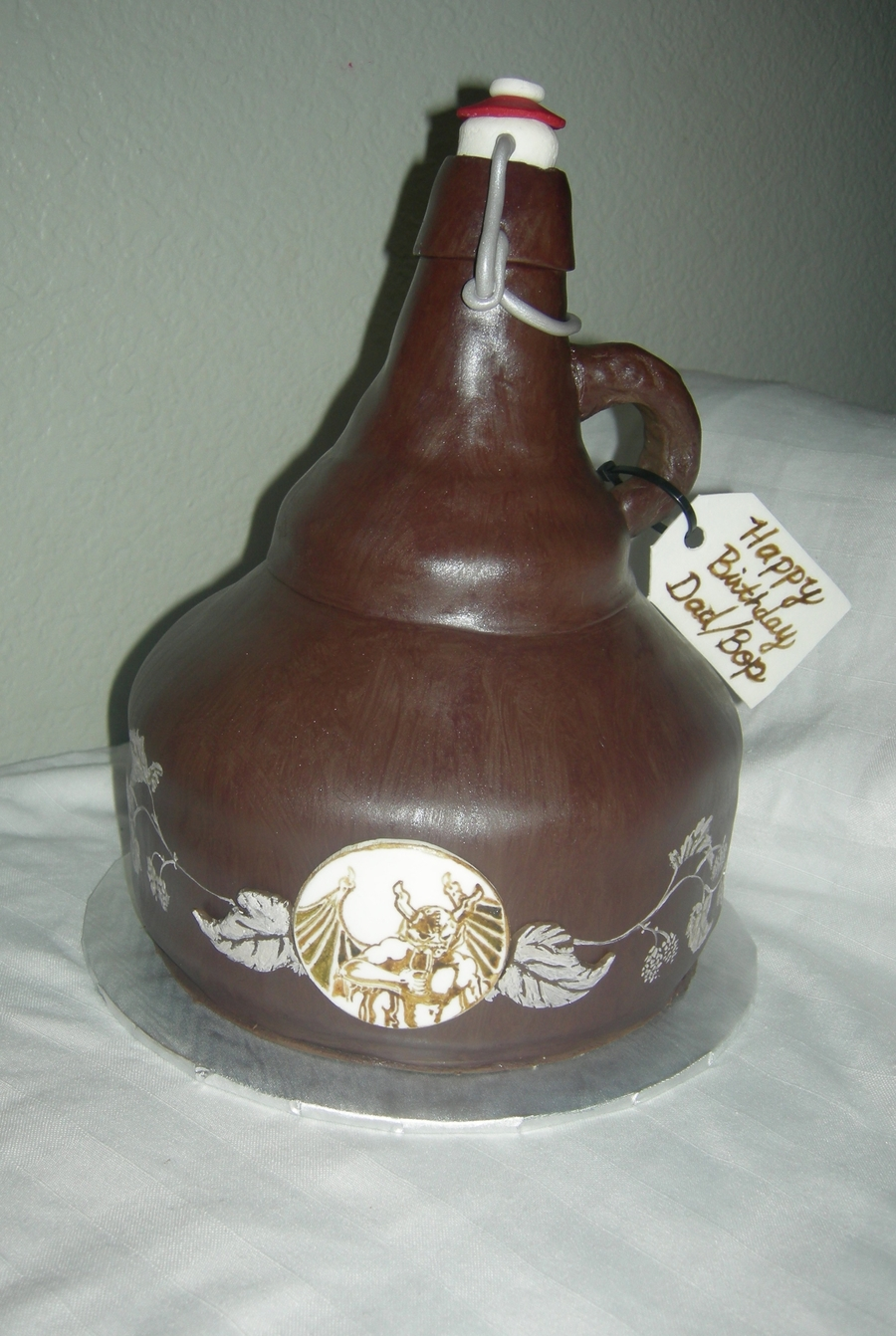 Growler Cake on Cake Central