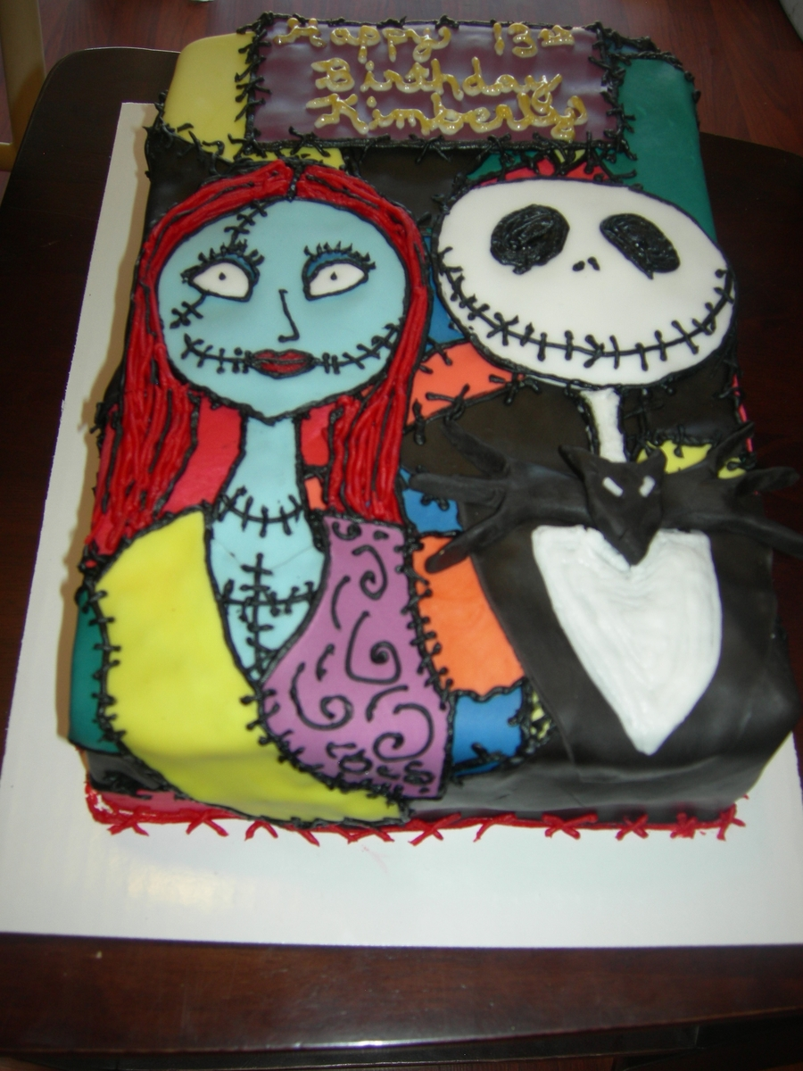 Nightmare Before Christmas Cake - CakeCentral.com