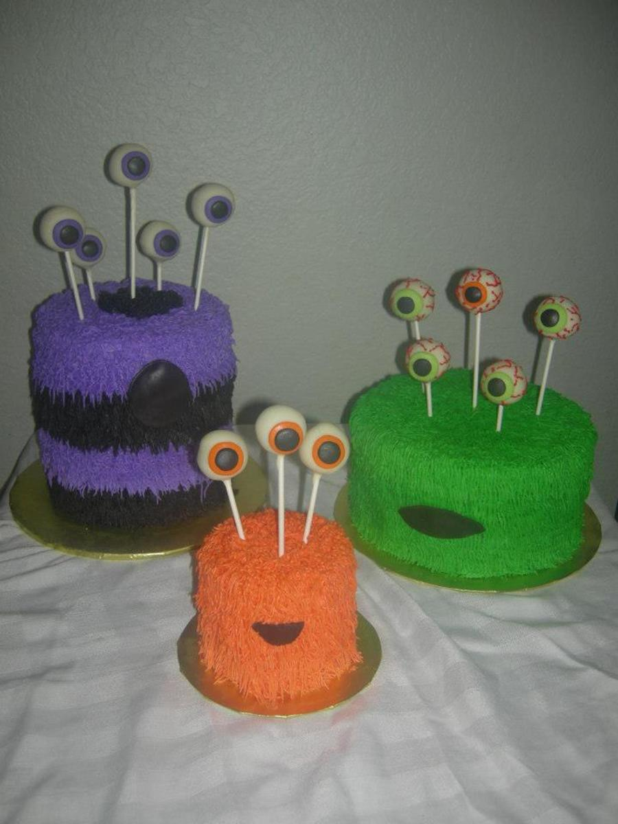 Fun Monster Theme Cakes  on Cake Central