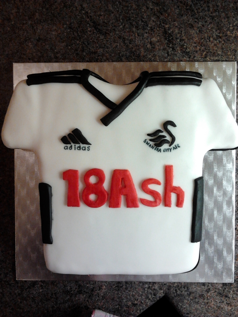Swansea City Cake on Cake Central