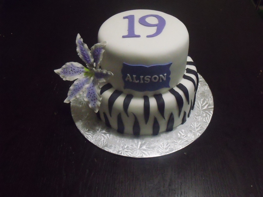 19th Birthday Cake Cakecentral