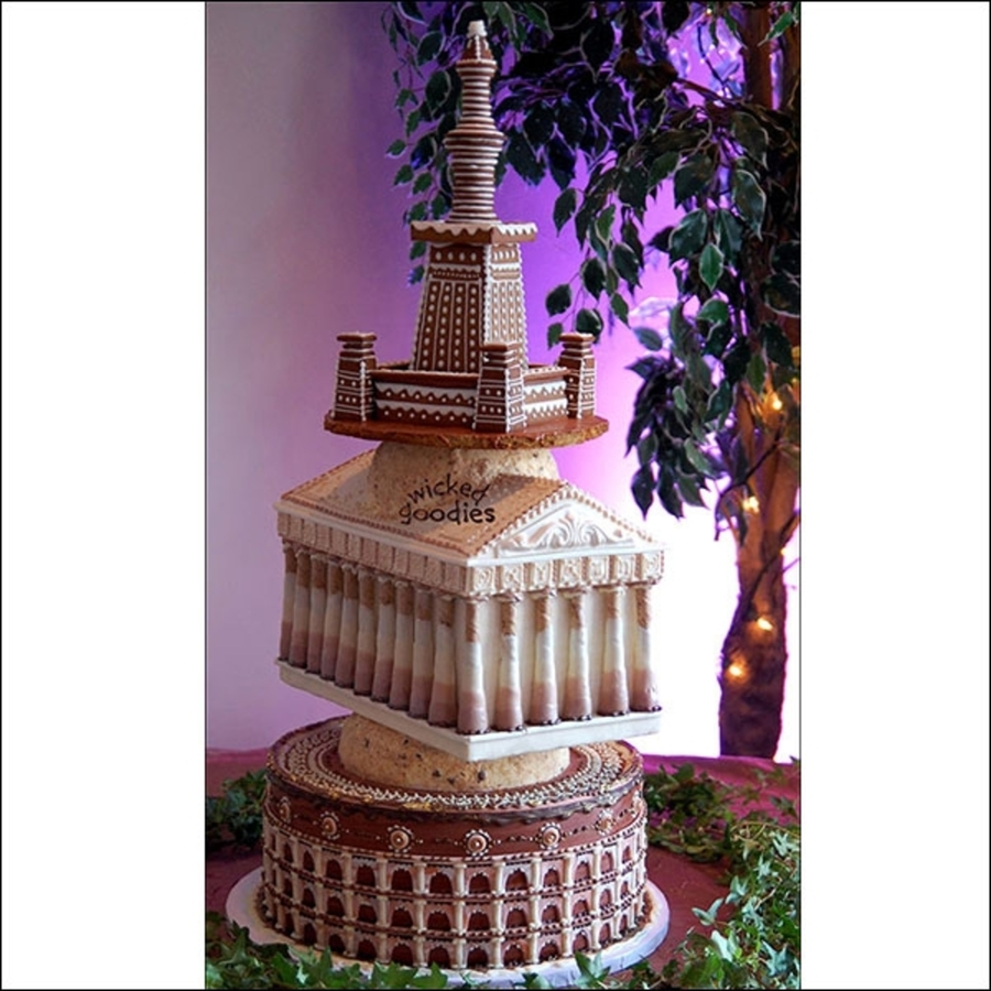 Ancient Monument Cake on Cake Central