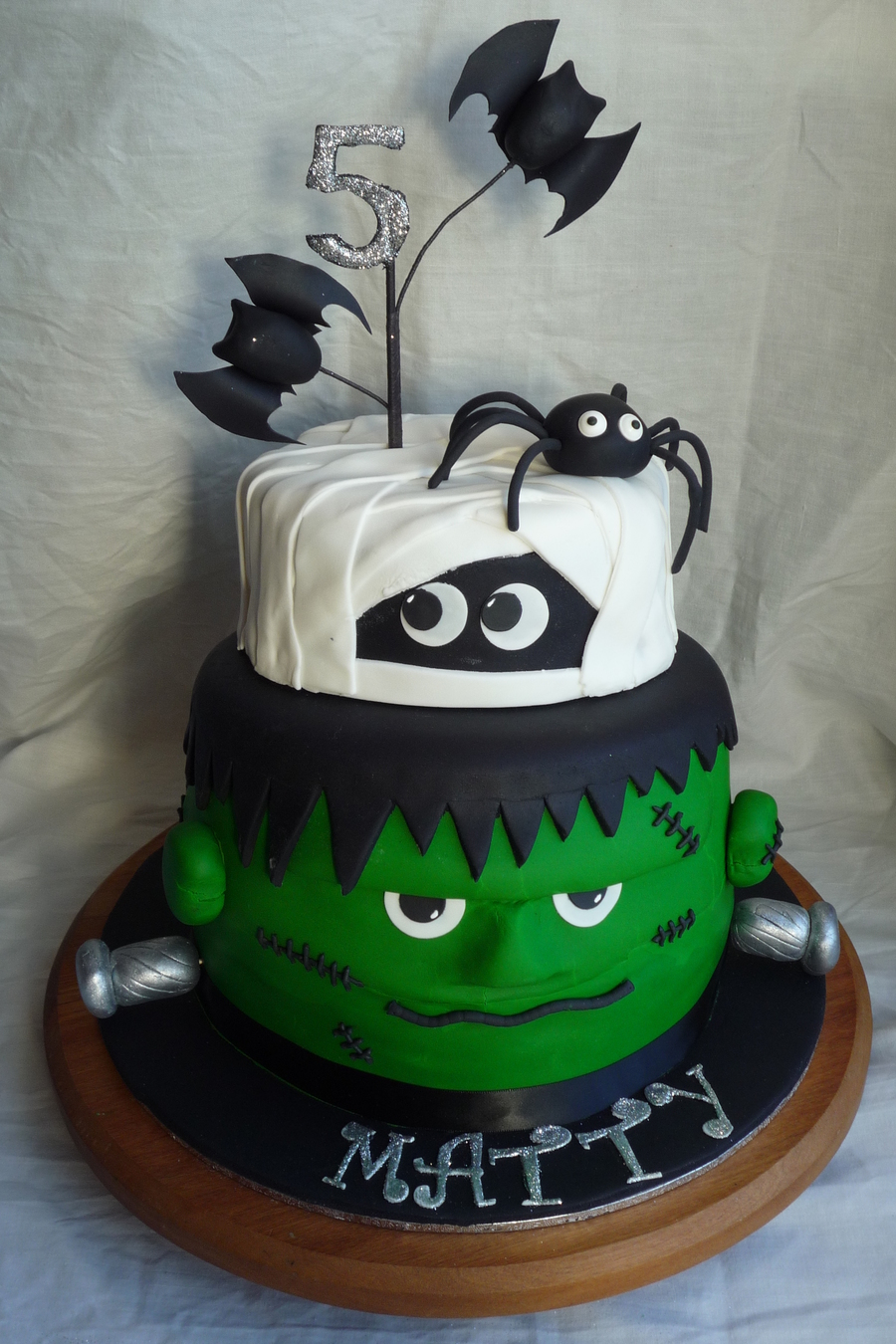 Frankenstein Amp Mummy Cake For Operation Sugar