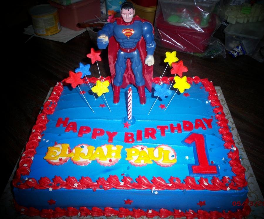 Superman Cakes CakeCentralcom