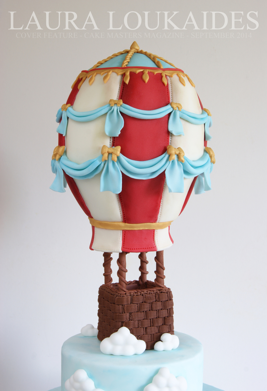Cake Decorating Hot Air Balloon : Hot Air Balloon Cake - CakeCentral.com