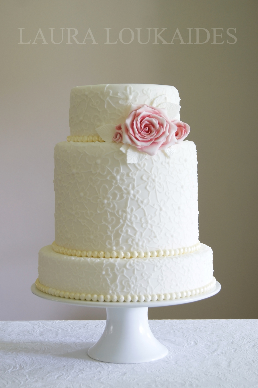 Boutique Wedding Cake on Cake Central