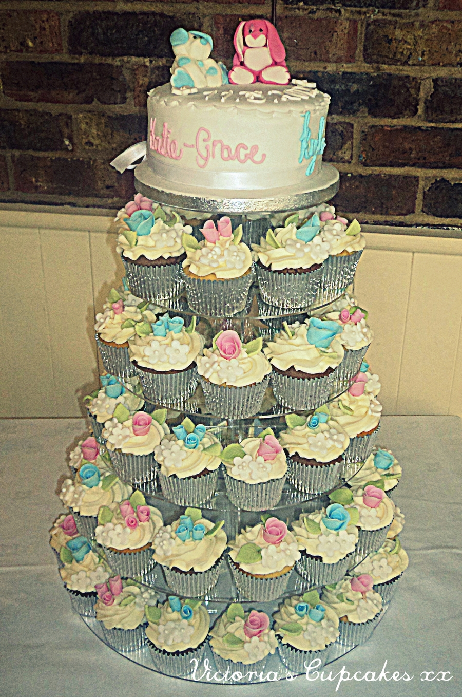 Cupcake Tower on Cake Central