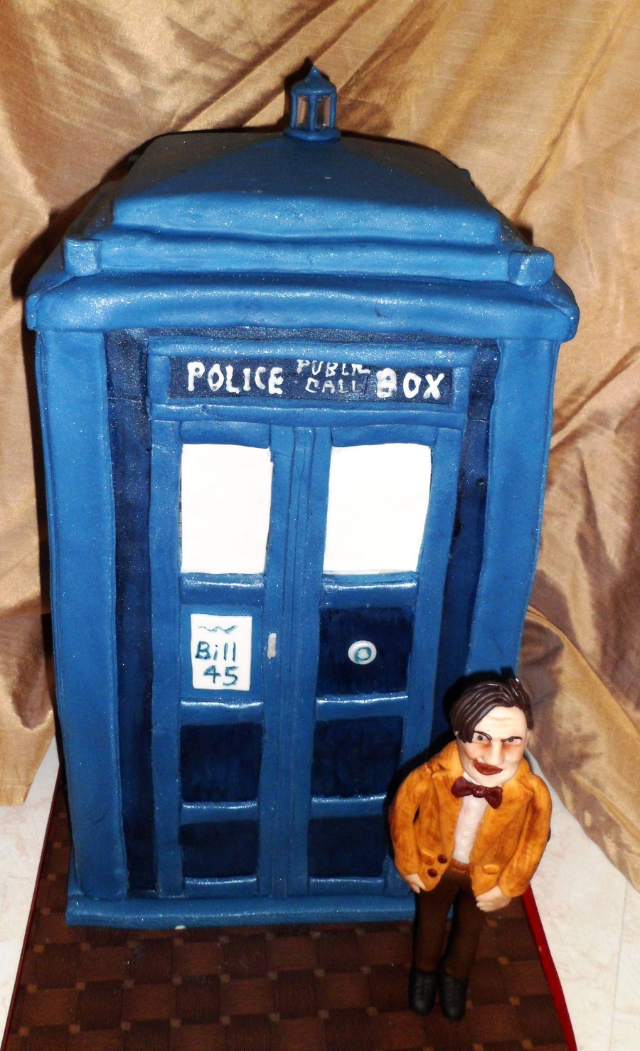 Tardis (D.r Who) on Cake Central