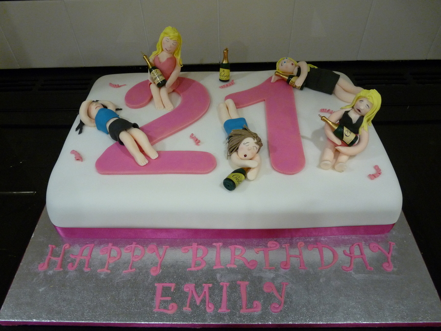 Drunken Dollies on Cake Central