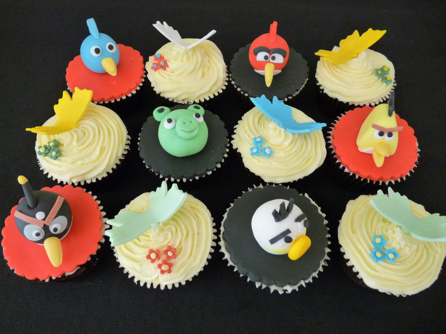 Angry Birds And Butterflies on Cake Central