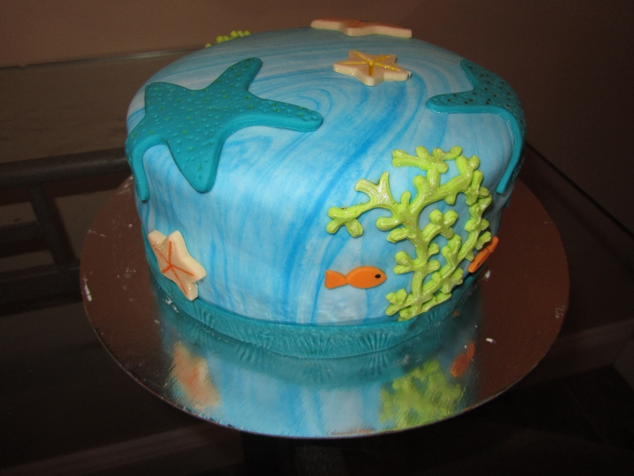Sea Cake on Cake Central