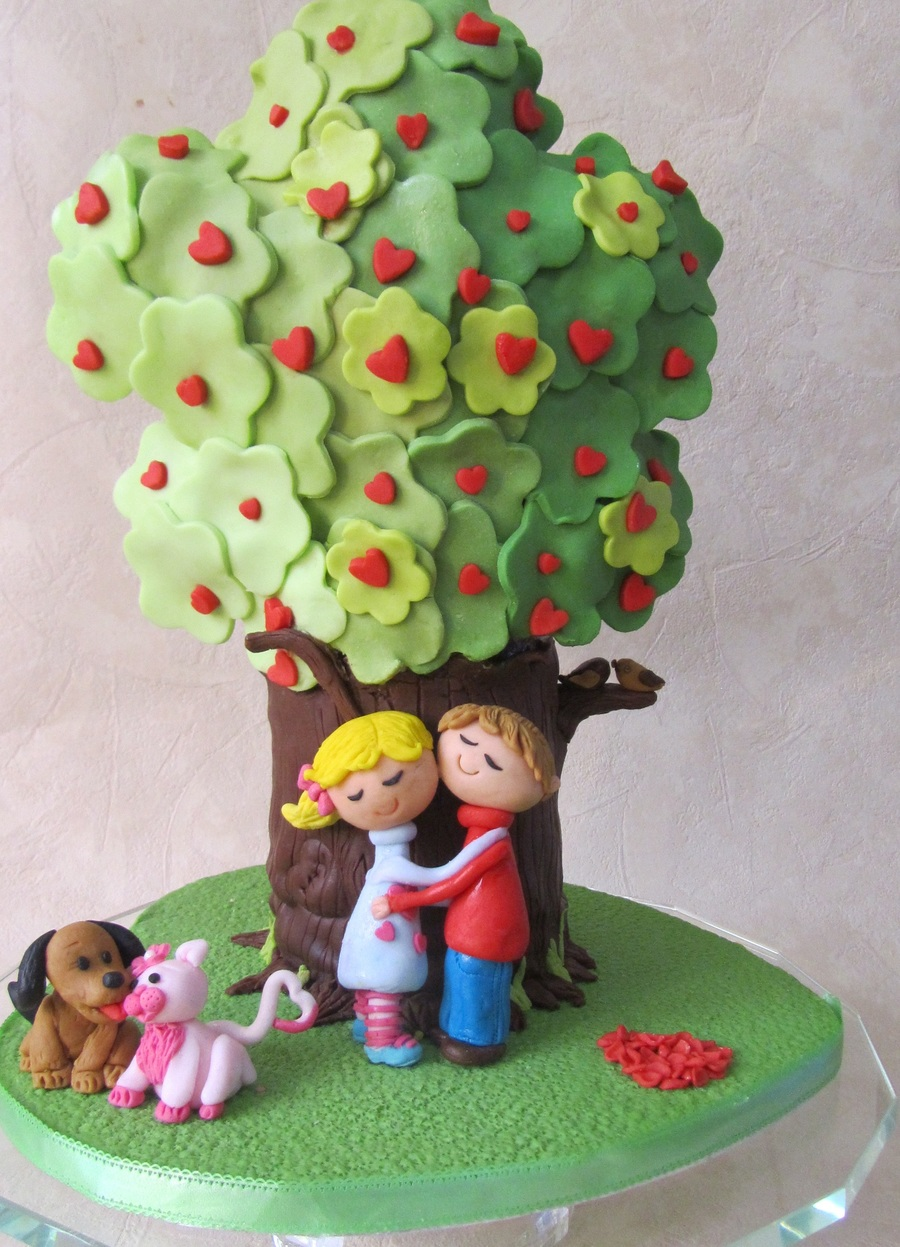 Love Tree Cake on Cake Central