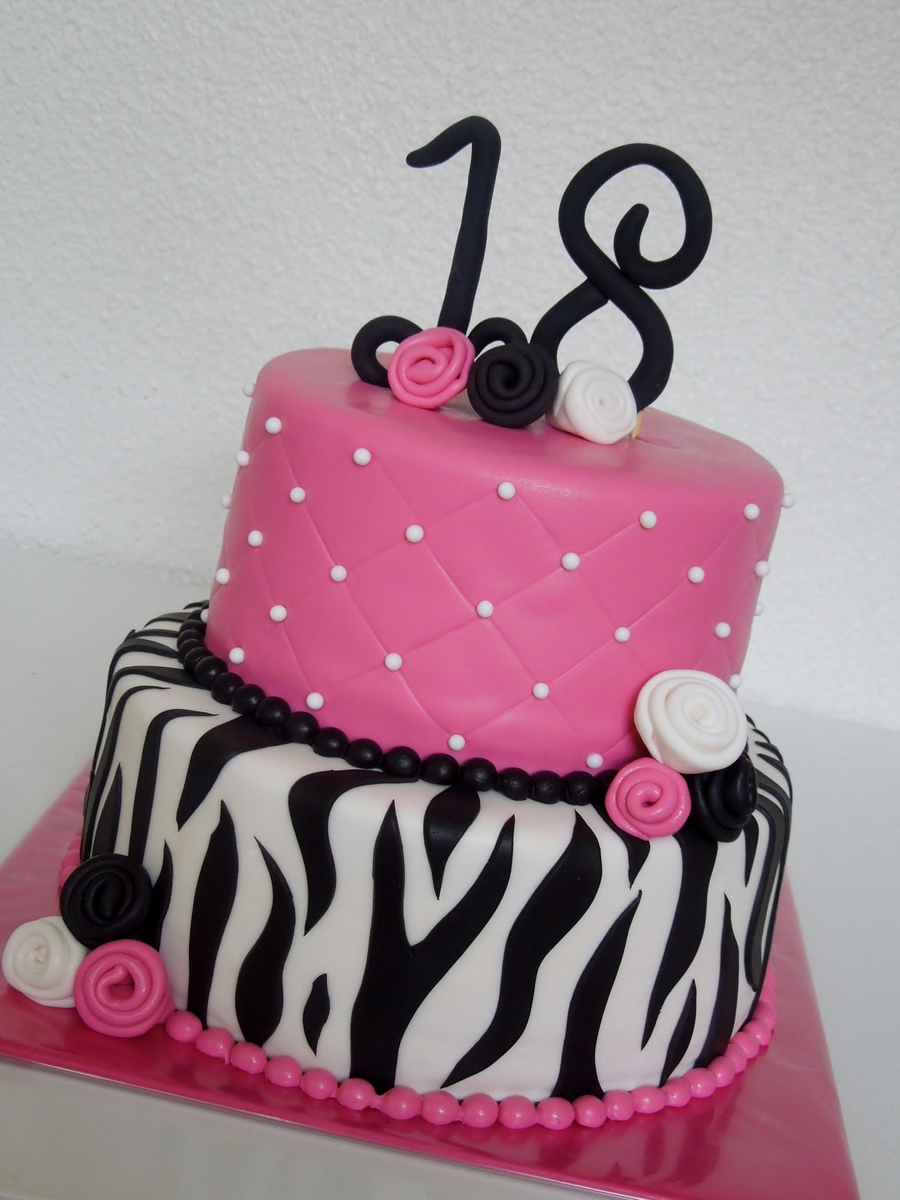 Sweet 18 Birthdaycake CakeCentralcom
