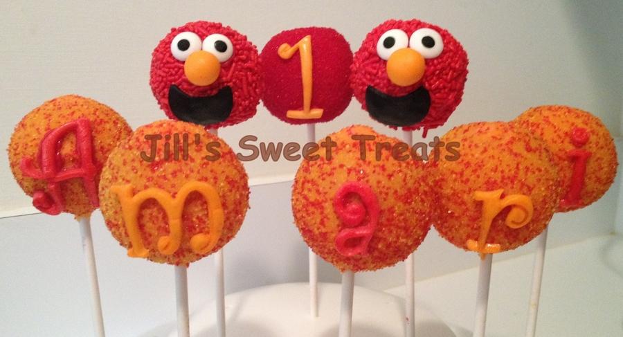 Elmo Cake Pops Recipe