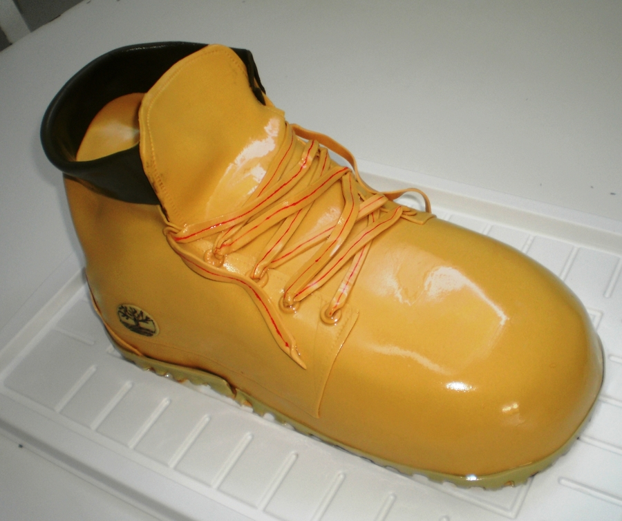 Timberland Shoe Cake on Cake Central