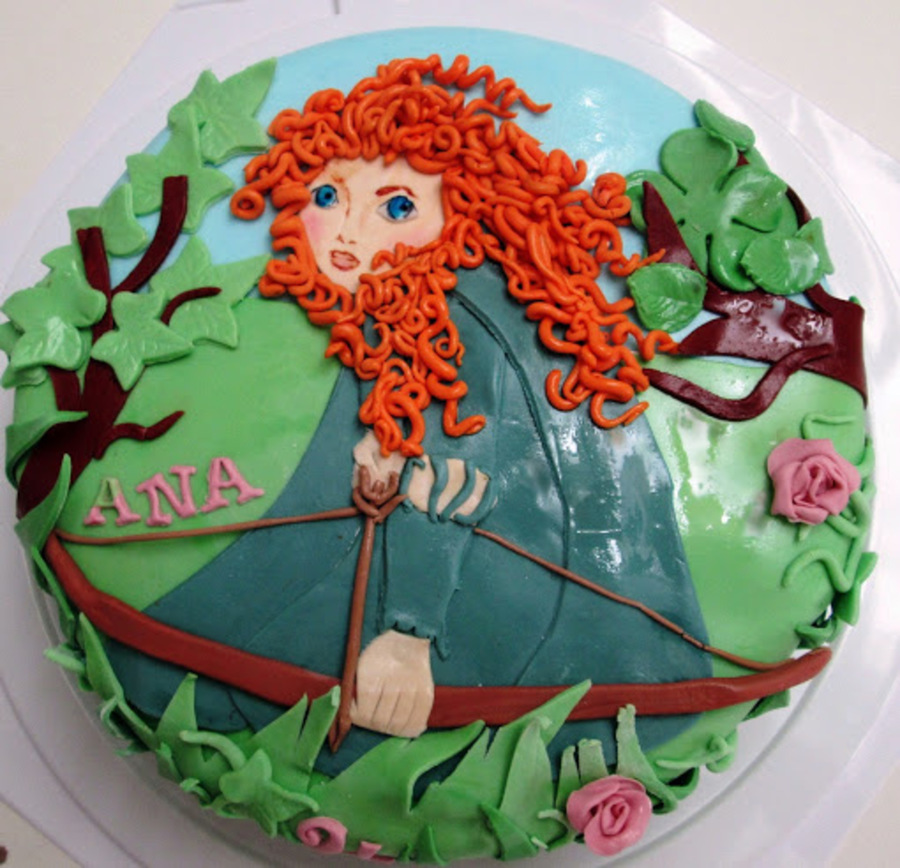 Merida Brave Birthday Cake on Cake Central