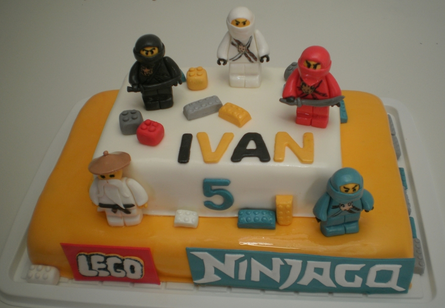 Lego Ninjago Birthday Cake on Cake Central