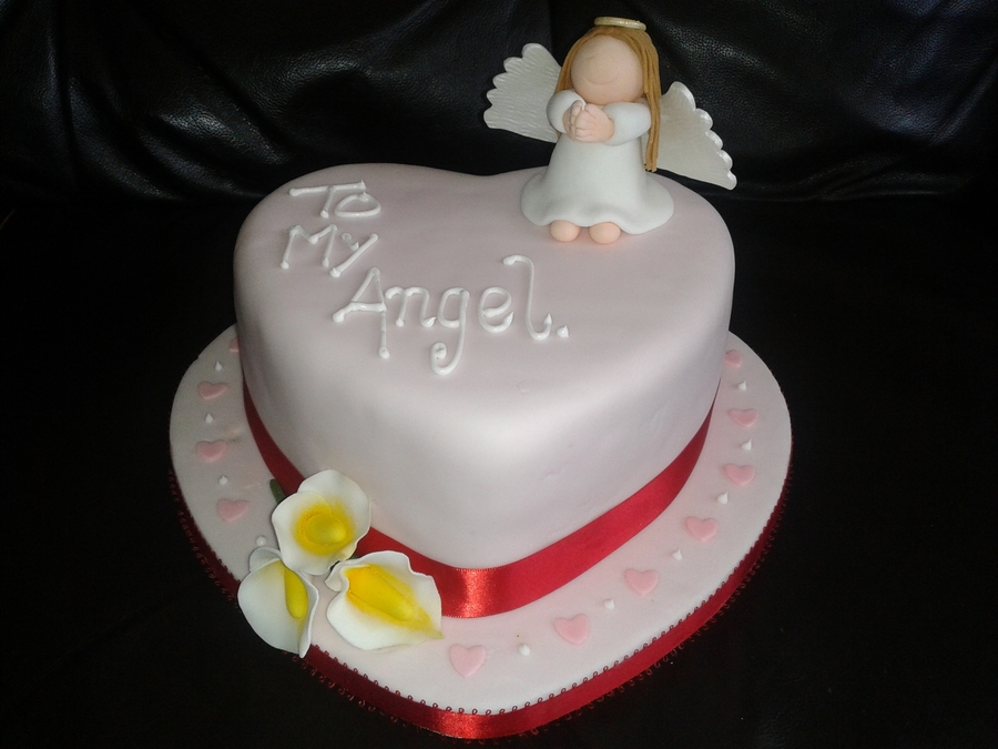Angel  on Cake Central