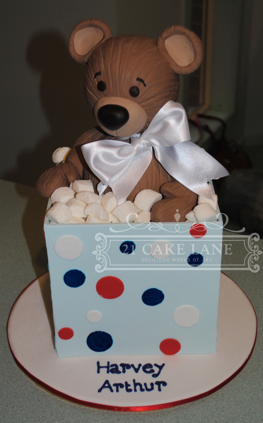Bear In A Box on Cake Central