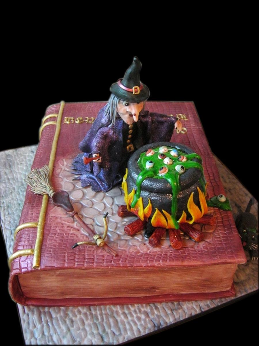 Witch Cake Cakecentral Com