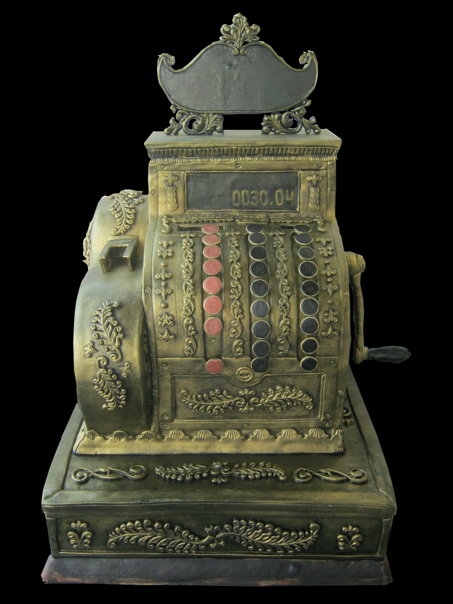 Antique Cash Register Cake Cakecentral Com