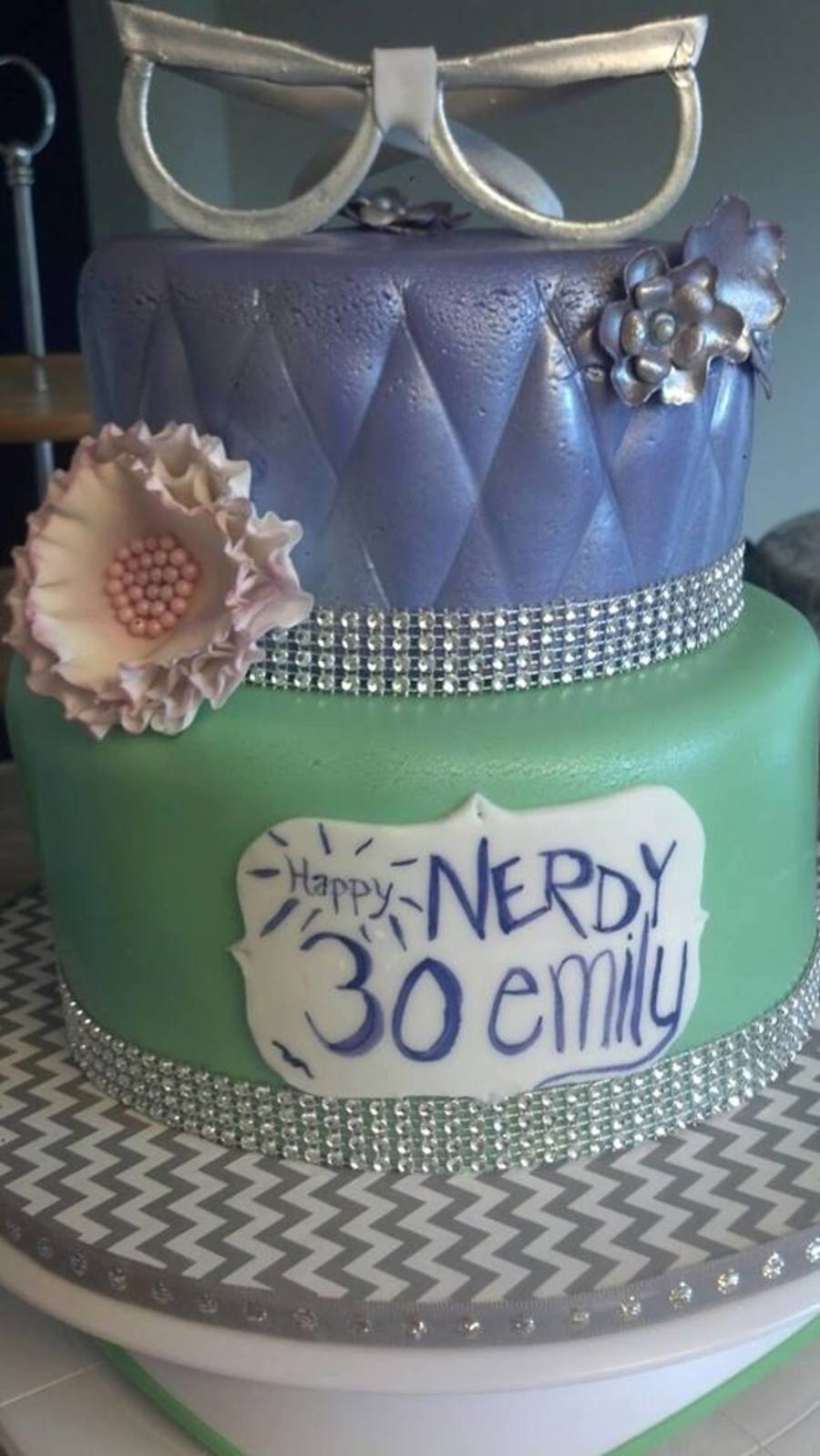 Incredible Nerdy 30 Birthday Cake Cakecentral Com Funny Birthday Cards Online Inifofree Goldxyz