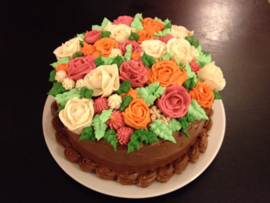 Flowers, Flowers And More Flowers! on Cake Central