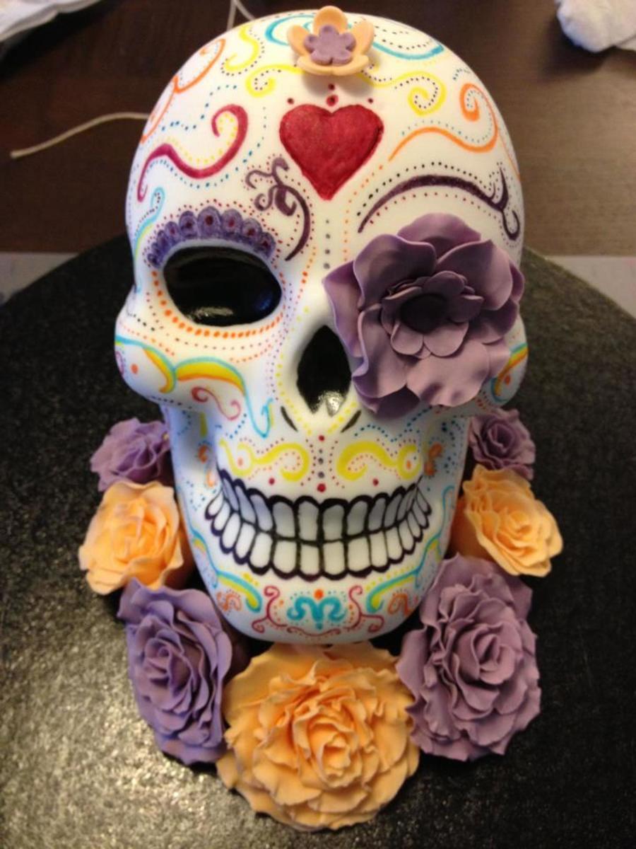 Halloween Skull Cake Cakecentral Com