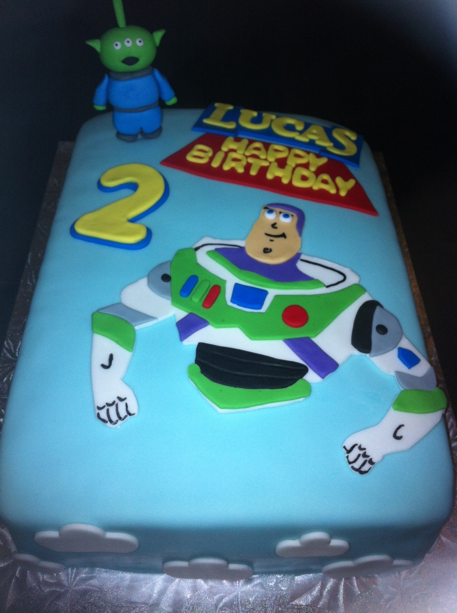 Buzz Lightyear Birthday Cake Cakecentral