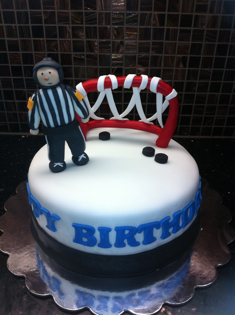 Hockey Referee Cake Cakecentral Com