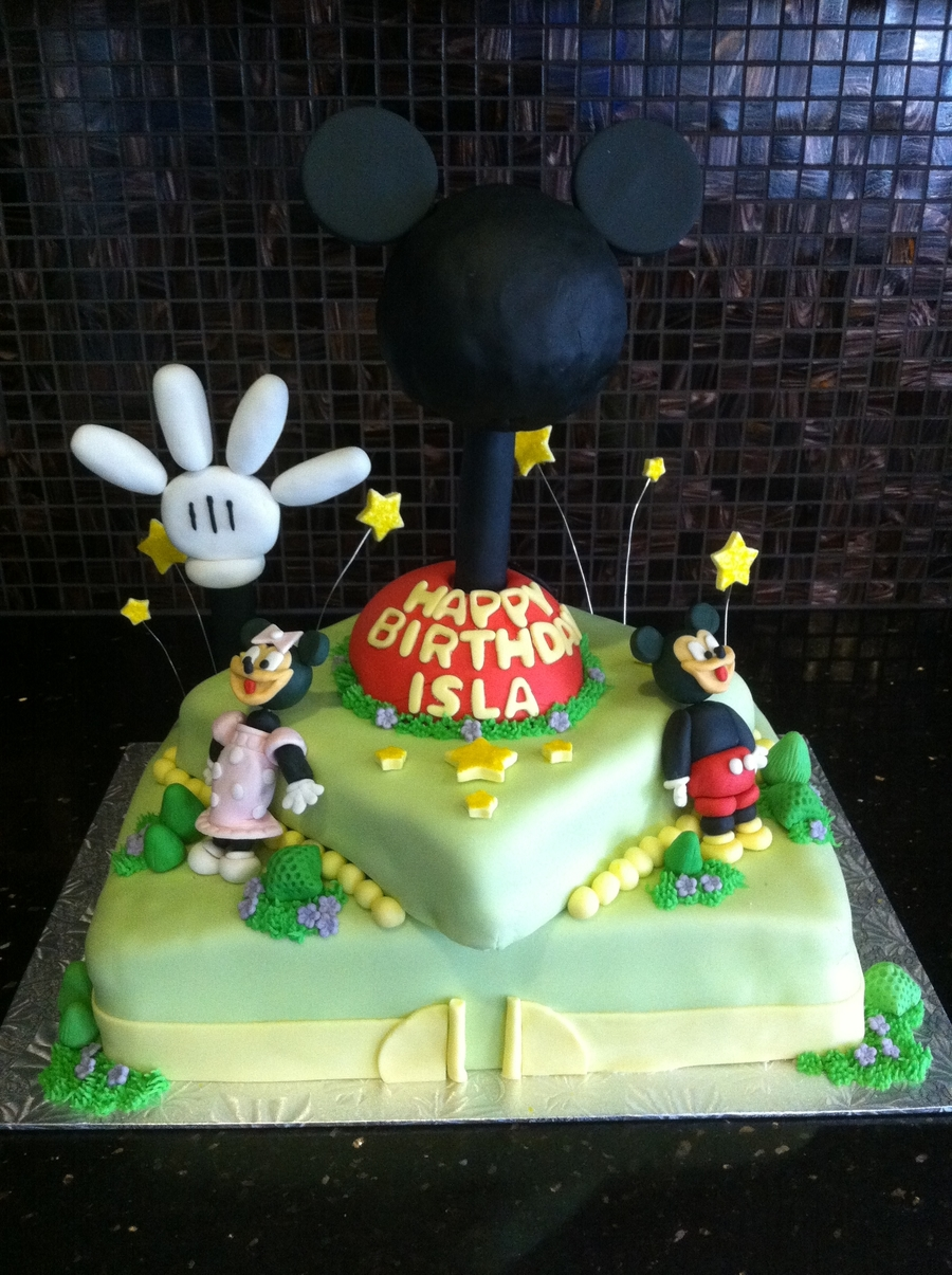 Mickey Mouse Clubhouse Birthday Cake on Cake Central