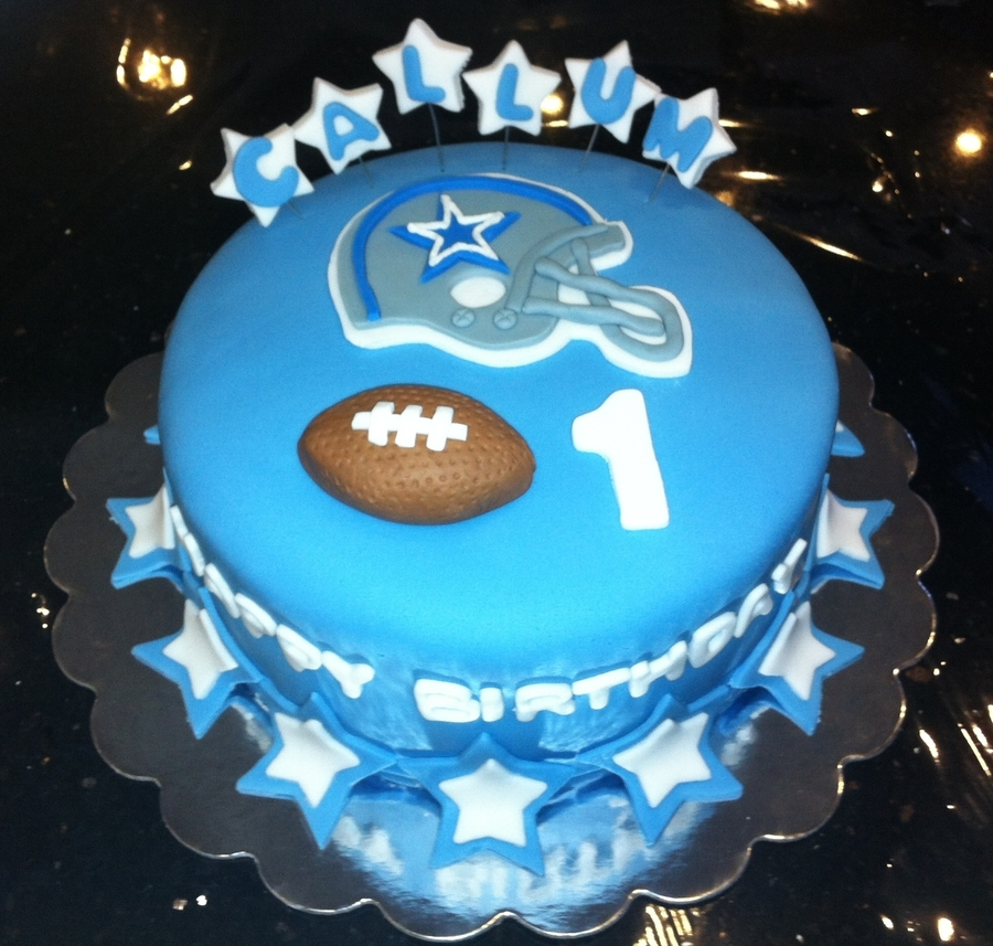 Dallas Cowboys Football Birthday Cake on Cake Central