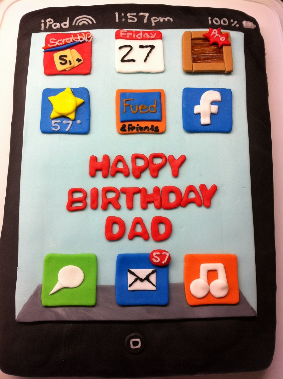 Ipad Birthday Cake on Cake Central