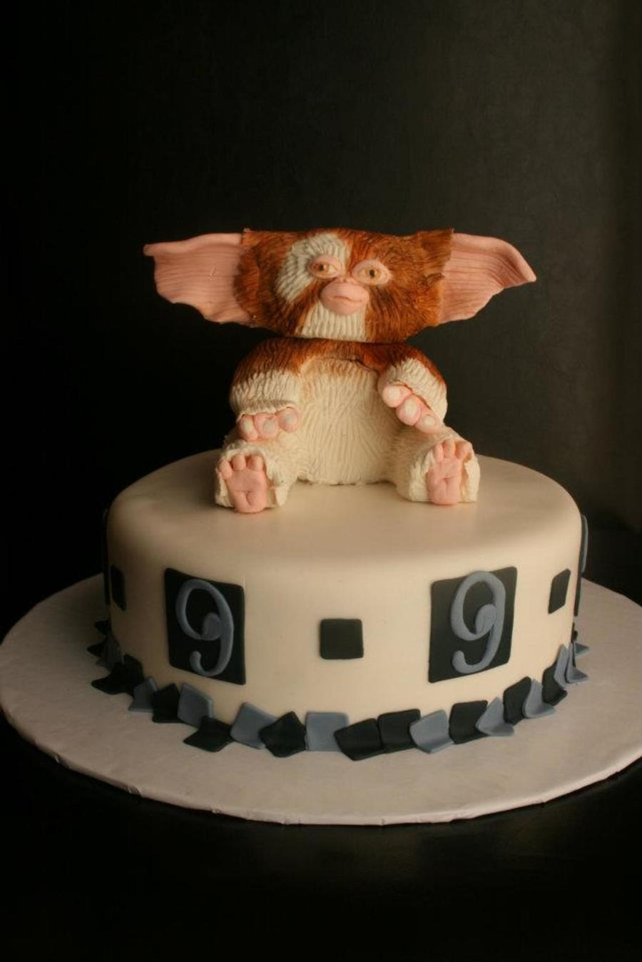 This Is One Of My All Time Favorite Cakes Gizmo From Gremlins An He Is Made All Out Of Modeling Chocolate Amp Was So Much Fun on Cake Central