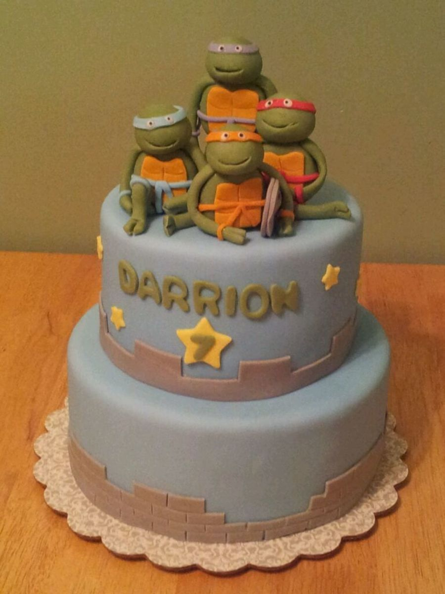 Ninja Turtles on Cake Central