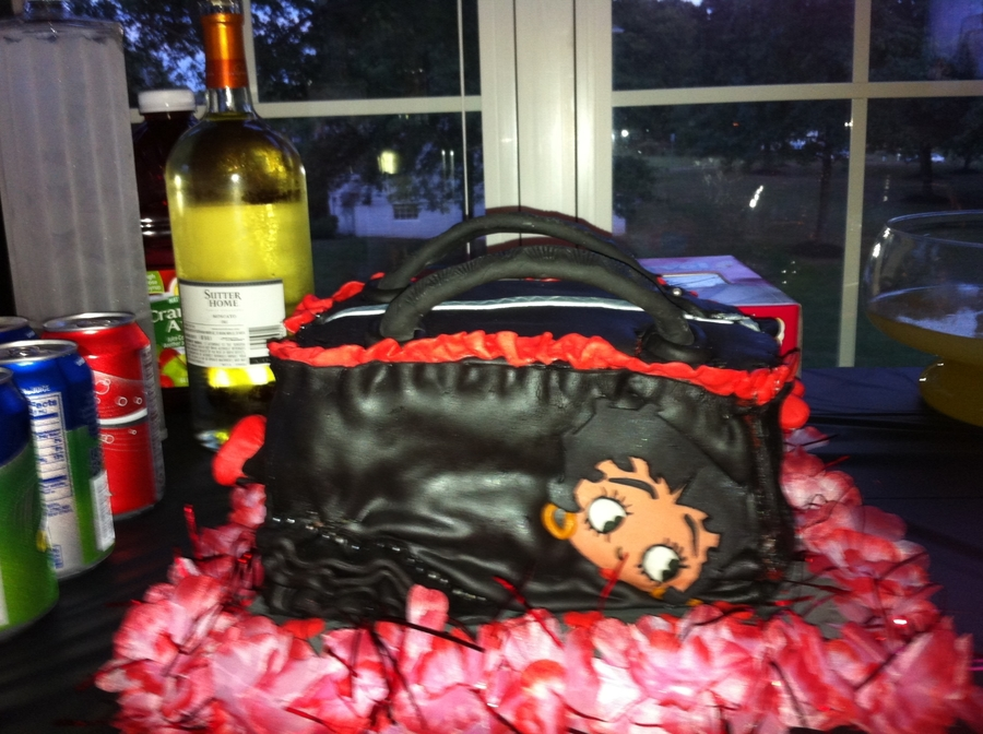 Betty Boop Purse on Cake Central