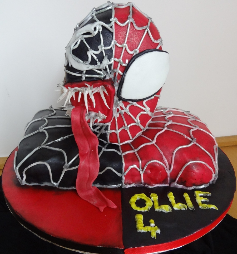 Spiderman Cake For 4 Year Old Ollie Cakecentral Com