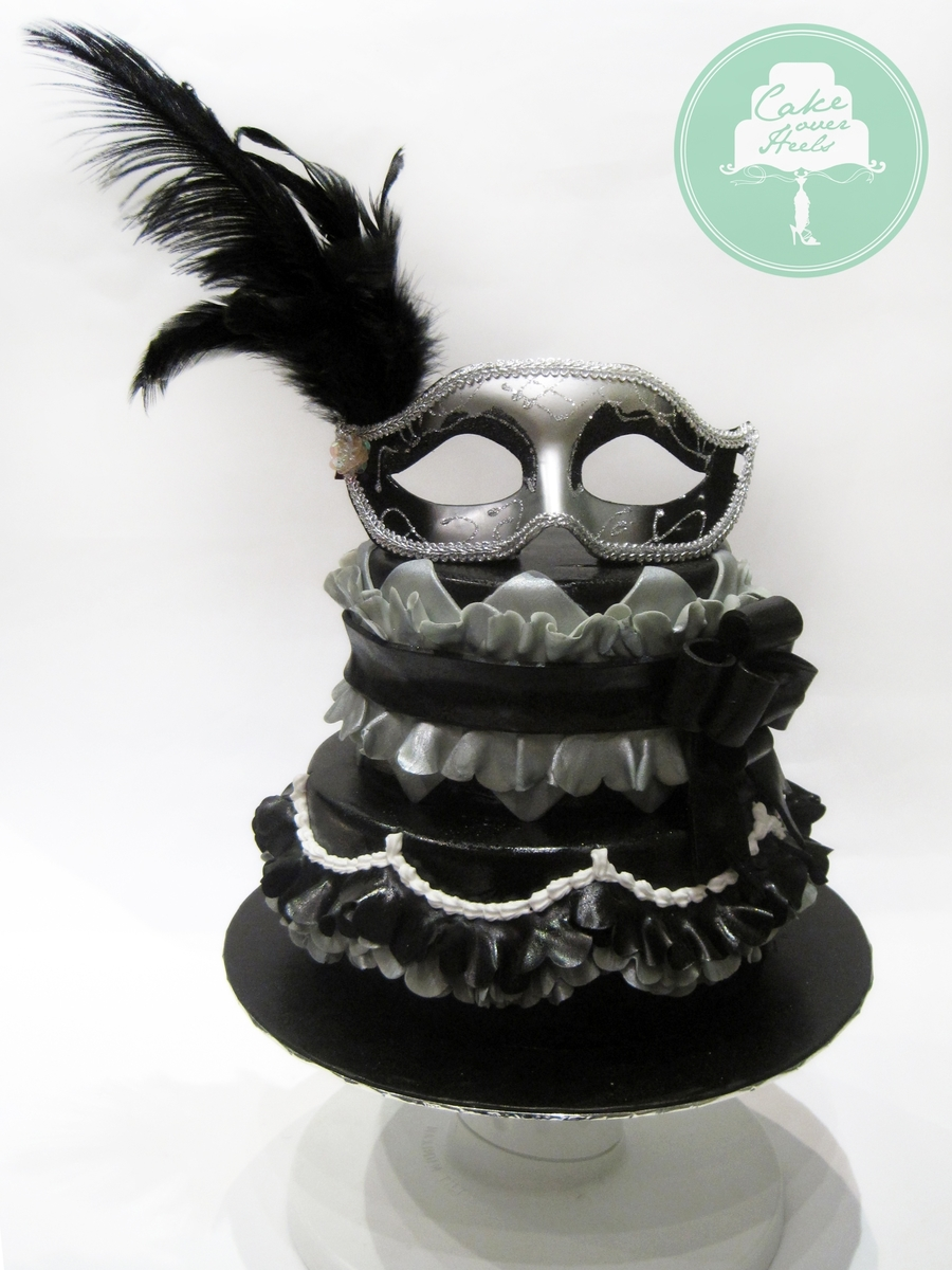 Gothic Masquerade on Cake Central