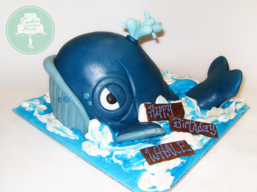 The Grumpy Whale on Cake Central