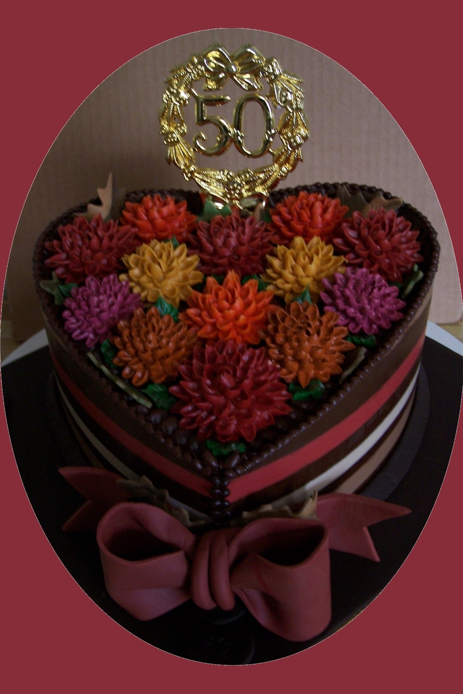 Autumn Anniversary on Cake Central