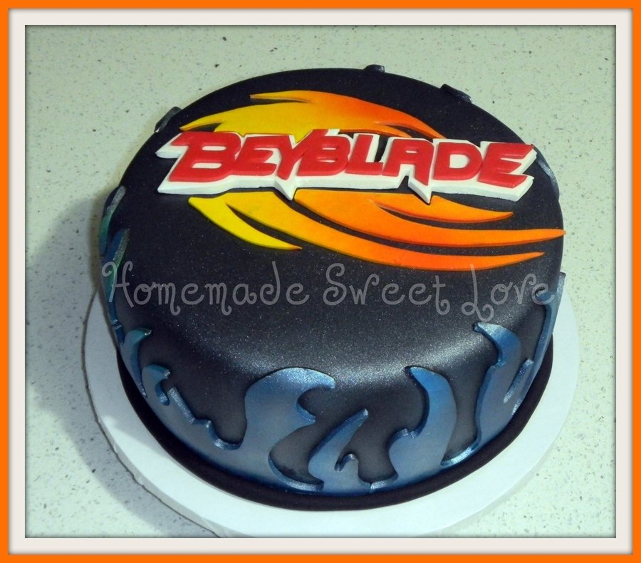 Beyblade on Cake Central