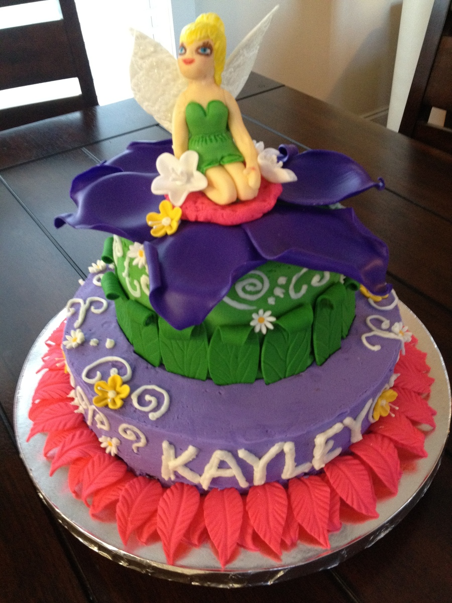 Fairytheme Birthday Cake on Cake Central
