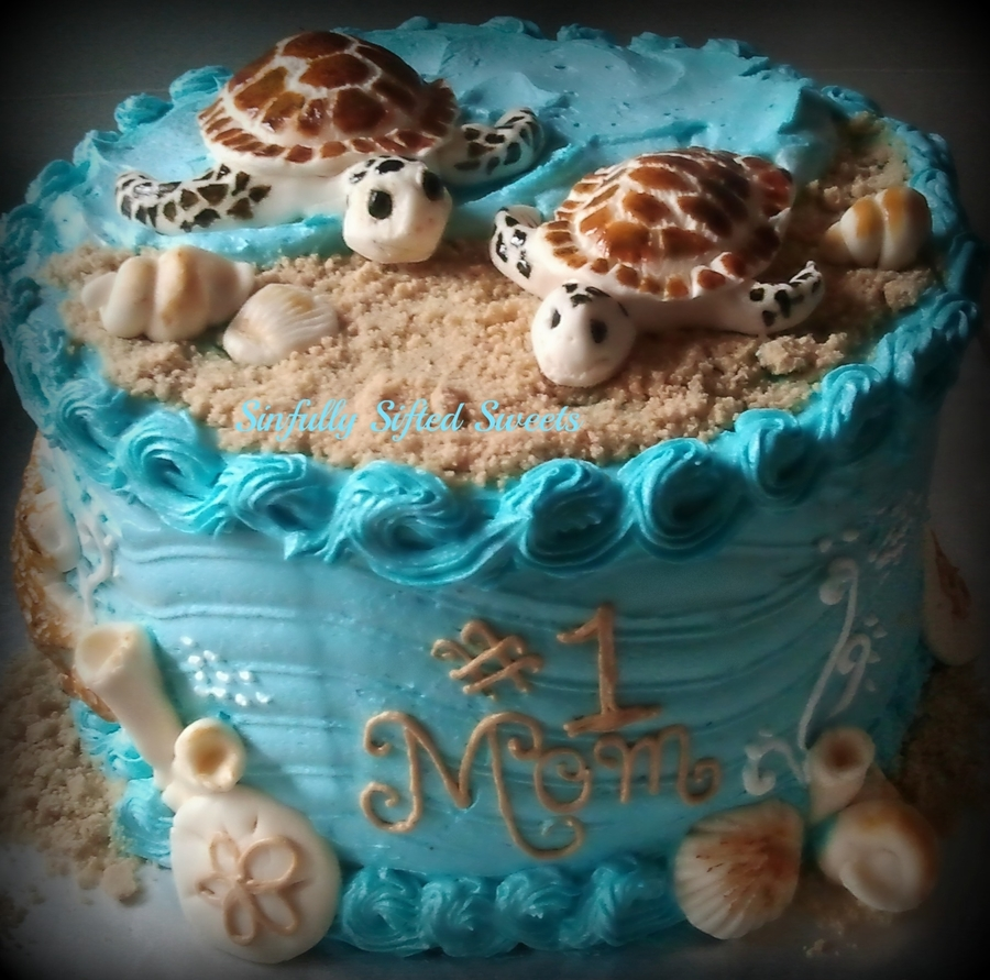 Sea Turtle Cake on Cake Central