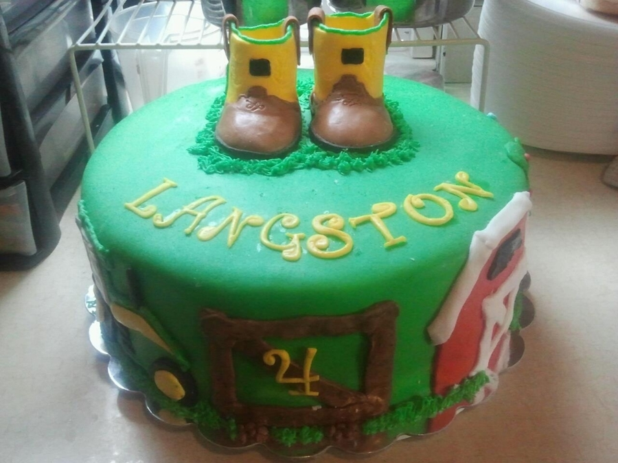 Jd Boots Cake on Cake Central