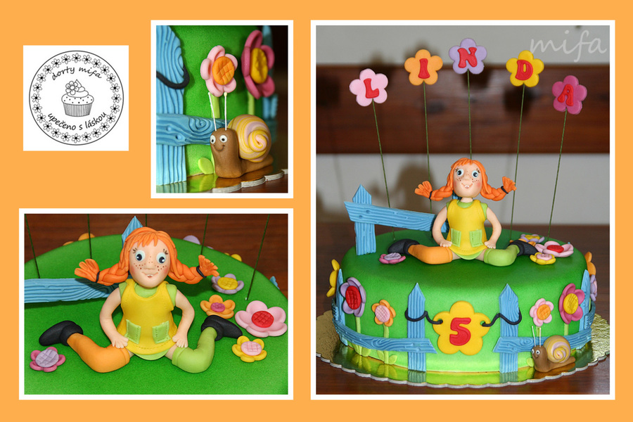 Pippi Longstocking Cake on Cake Central