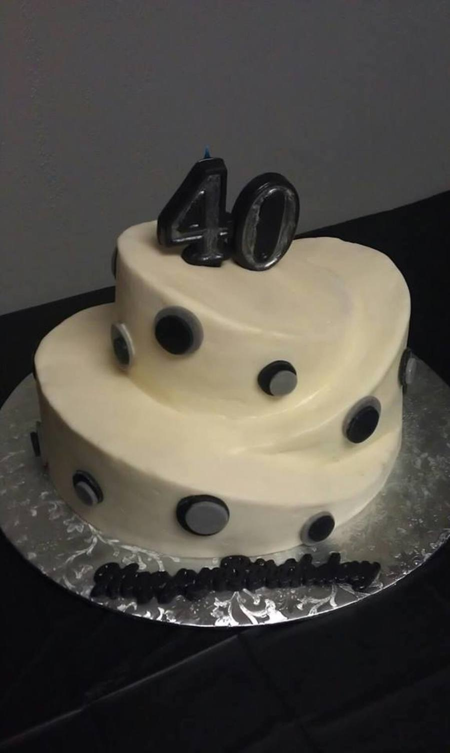40Th Birthday on Cake Central