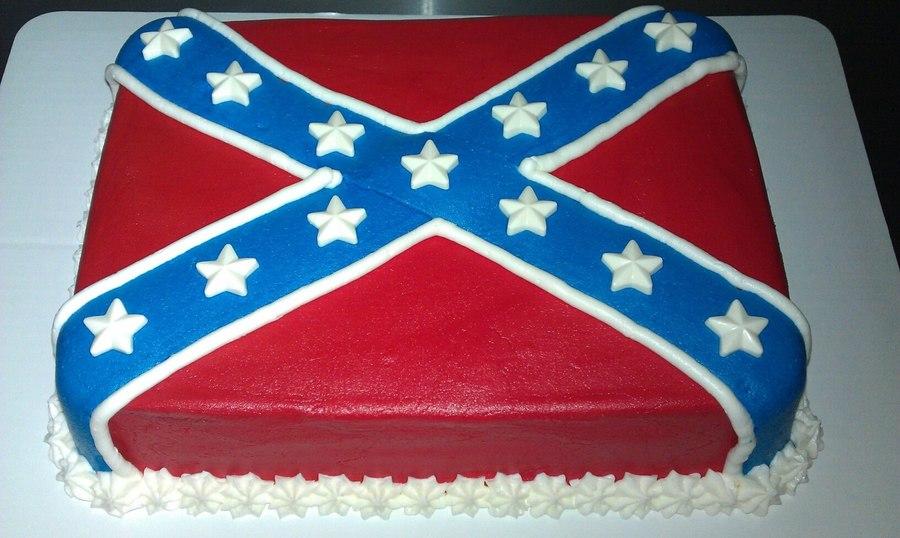 Confederate Flag Cake Recipe