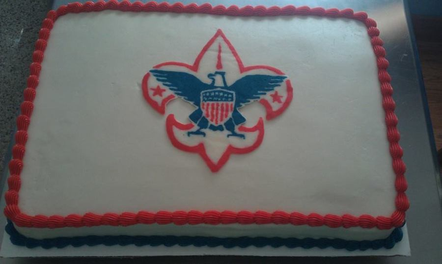 Admirable Cub Scout Cake Cakecentral Com Funny Birthday Cards Online Alyptdamsfinfo