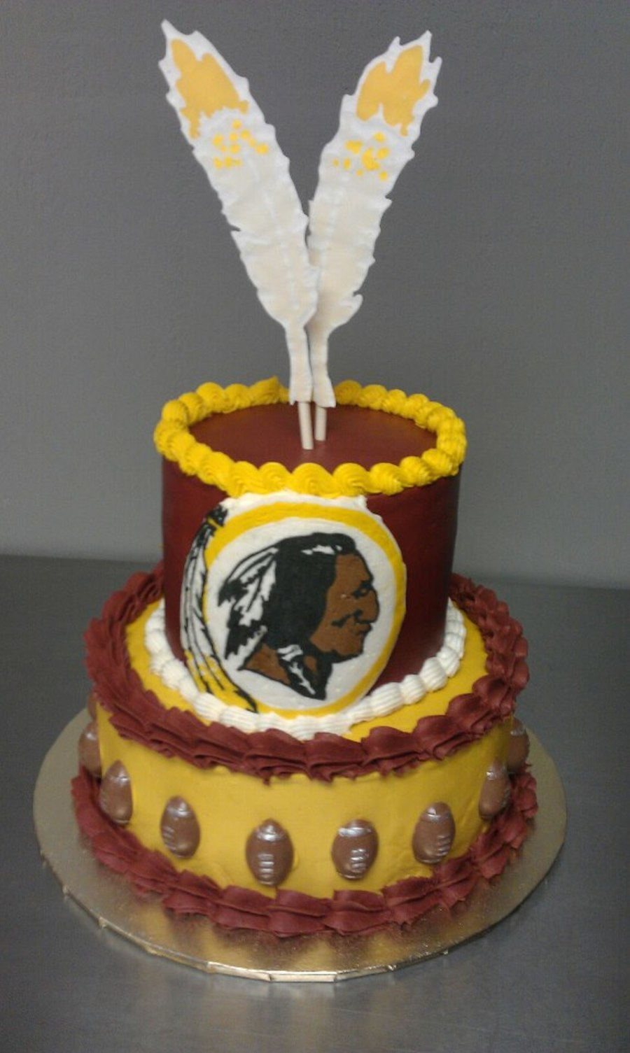 Washington Redskins Cake Cakecentral Com
