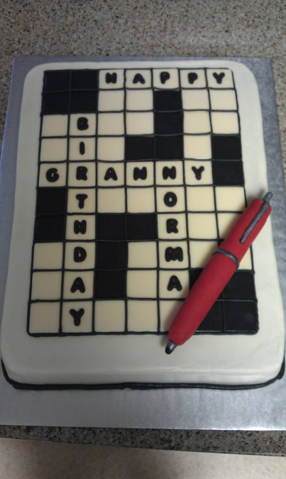 Crossword Puzzle - CakeCentral.com